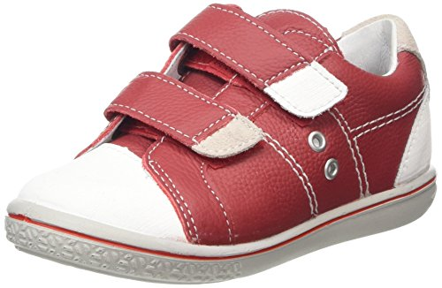Ricosta Nippy, Zapatillas Infantil Rojo (Red/White 350)