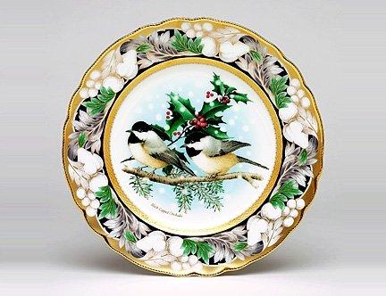 Noritake 2006 Annual Christmas Plate Chickadee ()