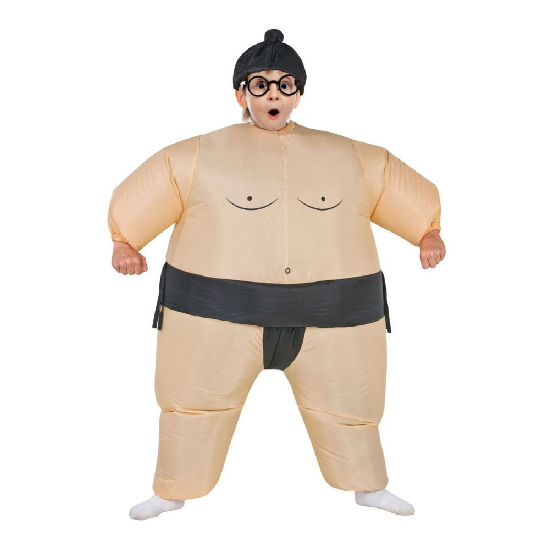 Inflatable Sumo Costume Funny Dress Fan Operated Cosplay Halloween Costume by Crystalbella Inflatable Cos
