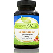 Sulbutiamine | Nootropic | 500 mg |100 Capsules | Best Price on Net!