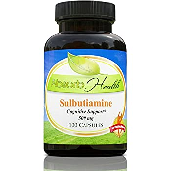 Sulbutiamine | Nootropic | 500 mg |100 Capsules | Best Price on Net!