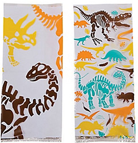 Dinosaur Dig Cellophane Bags 12