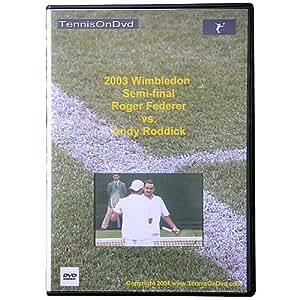 03 Wimb Semi-Federer v Roddick (DVD)