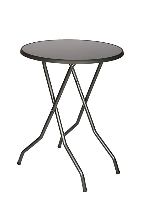 stehtischshop poseur table foldable table stand can store yukon 85