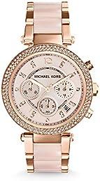Womenu0027s Parker Two-Tone Watch MK5896  sc 1 st  Amazon.com & Womenu0027s Wrist Watches | Amazon.com