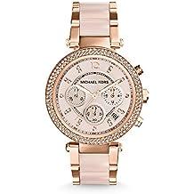 Michael Kors Women's Parker Two-Tone Watch MK5896