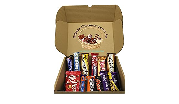 Ultimate Chocolate Lovers Selection Gift Box - The Perfect Gift From UKPD: Amazon.es: Alimentación y bebidas