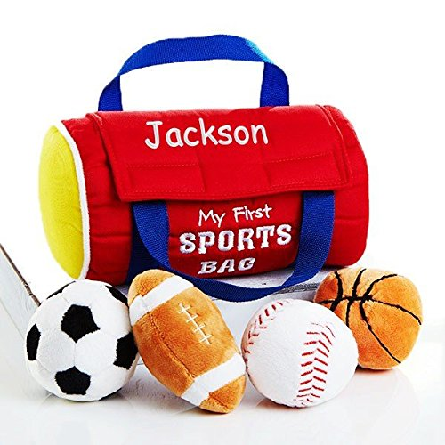 First Sports Bag Playset - Personalized My First Playset for Baby (My First Sportsbag Playset)