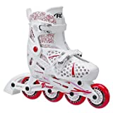 Roller Derby Girls Tracer Adjustable Inline Skate, Small adjustable size 12-1