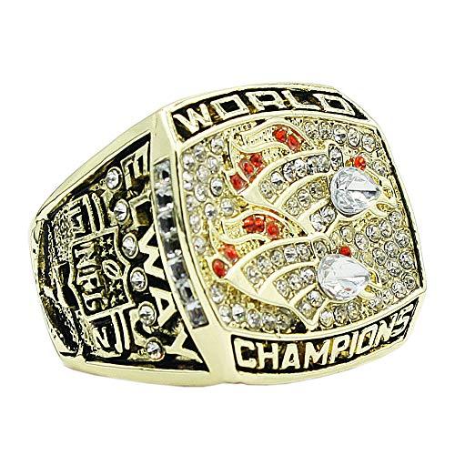 Man's Year 1998 Gold Diamond Denver Broncos Championship Rings,Size 10
