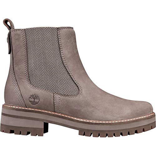 5091c949669fe2 Timberland Women s Courmayeur Valley Chelsea Boot Medium Grey Nubuck (6  B(M) US
