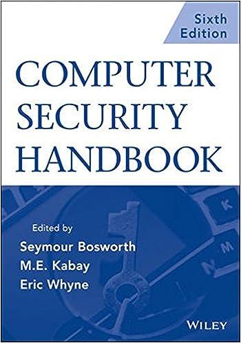 Computer security handbook set seymour bosworth m e kabay computer security handbook set 6th edition fandeluxe Image collections