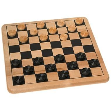 Cardinal Wood Checkers & Tic Tac Toe