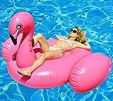 BonBon® Original Giant Flamingo Inflatable Pool Float- 80 Inches. USA Seller.