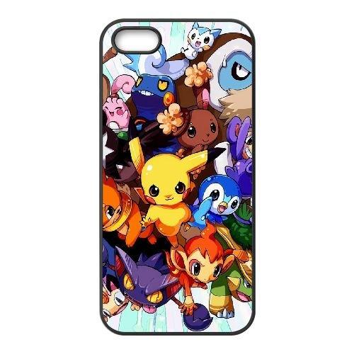 Pokemon YU73VG2 coque iPhone 5 5s étui de téléphone cellulaire coque B4OJ8V4WZ