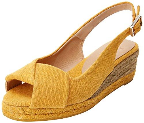 Castañer Damen Brianda3ss18002 Espadrilles orange (Ocre 1003)
