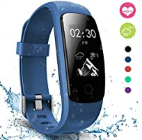 Pulsera Actividad,moreFit Slim Touch Pulsera Inteligente,Smart Bracelet Tracker con Monitor de Ritmo Cardíaco Activity Tracker,Relojes Inteligentes Ip67 ,Pulsera Fitness Tracker Gps,Pulsera Actividad Inteligente con Sleep Monitor para iPhone y Android Smartphones