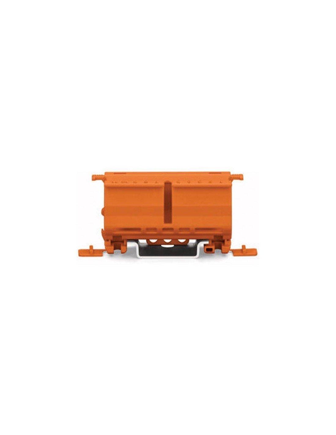 Serie 22 orange 221-500     10 Stück WAGO 221-500 Befestigungsadapter f
