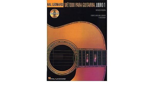 HAL LEONARD - Guitar Method Vol.1 para Guitarra Clasica W.Schmid ...
