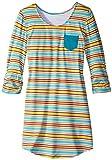 Soybu Girl's  Joanie Dress, Autumn Stripe, X-Large