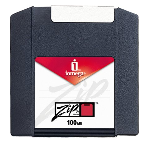 Iomega 11081 Zip 100 MB Disks (Multicolor, PC Formatted, 10-Pack) (Discontinued by Manufacturer)