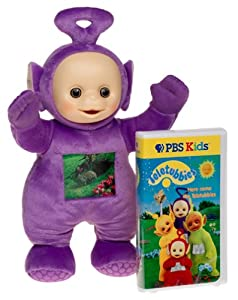 Amazon Com Tinky Winky Teletubbies Talking Plush With
