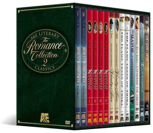 A&E Literary Classics - The Romance Collection 2 Megaset (Horatio Hornblower / Nicholas Nickleby / Vanity Fair / The Flame Trees of Thika / The Mayor of Casterbridge / Tess of the D'Urbervilles / The Great Gatsby) -