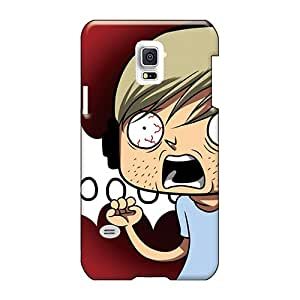 Protective Hard Phone covers cases for Happy Christmas and New Year For Samsung Galaxy S5 Mini (sam6196kLAw) Custom High Resolution Pewdiepie Series
