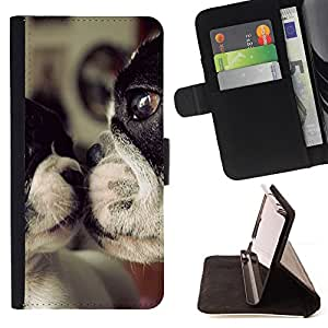 Jordan Colourful Shop - terrier dog mother love sweet cute For Apple Iphone 6 - Leather Case Absorci???¡¯???€????€????????&cen