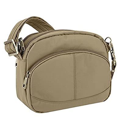 Travelon Anti-Theft Signature E W Shoulder Bag