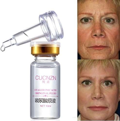 Hyaluronic Acid Serum,lotus.flower 100% Natural PureFirming Collagen Strong Anti Wrinkle Hyaluronic Acid Serum (10ML)