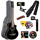 Yamaha APXT2 3/4 Size Thinline Acoustic-Electric Cutaway Guitar with Legacy Accessory Bundle, Many Choices