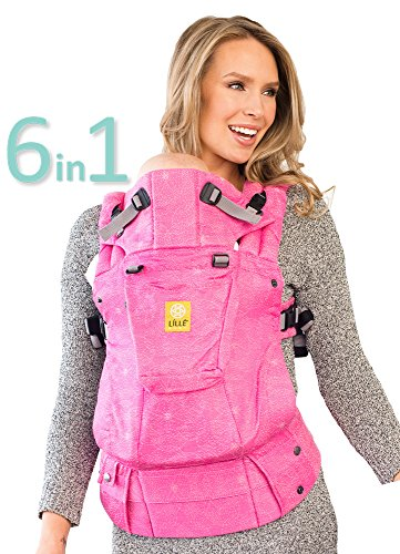 L LL baby The Complete Woven SIX-Position, 360 Ergonomic Baby Child Carrier, Candy Shop