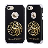 Official HBO Game Of Thrones Sigils - Targaryen Gold Various Designs Gray Guardian Case for Apple iPhone 7 / iPhone 8