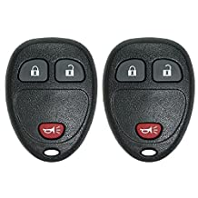 Canada Automotive Supply - 2 New Keyless Entry Remote Car Key Fob for Chevrolet and GMC Vehicles OUC60270 OUC60221 15913420