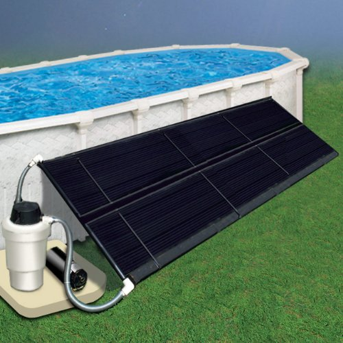 - Doheny's 5' x 10' (Two 2.5 x 10 Panels) Space Saver Solar Heating Collector