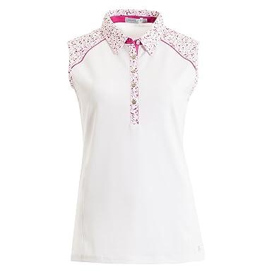 8590f8b64 Green Lamb Ladies Sleeveless Polo Shirt Golf Tennis Top: Amazon.co ...