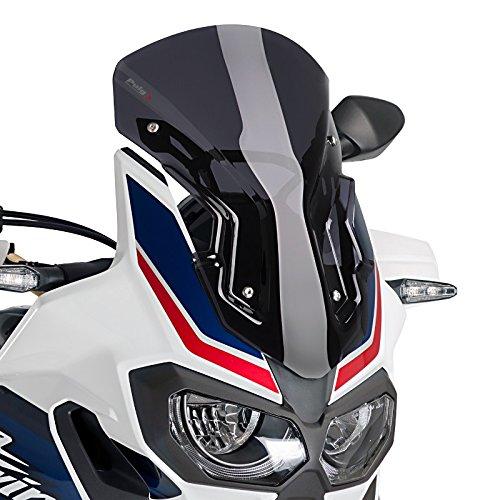 Bulle Racing Puig Honda Africa Twin CRF 1000 L 16-18 fum/é fonc/é