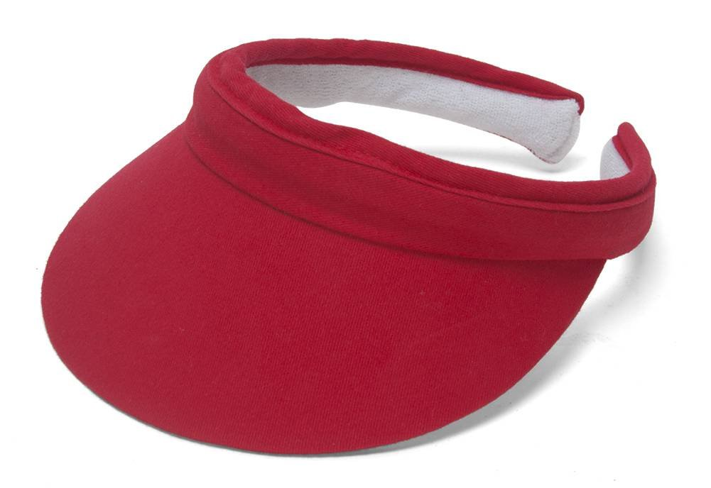 Sports Cotton Twill Visor TOP HEADWEAR