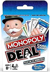 Holland Plastics Original Brand Shuffle – Monopoly Deal – traiter cortaúñas, voler Des Tarjetas amusantes.: Amazon.es: Hogar