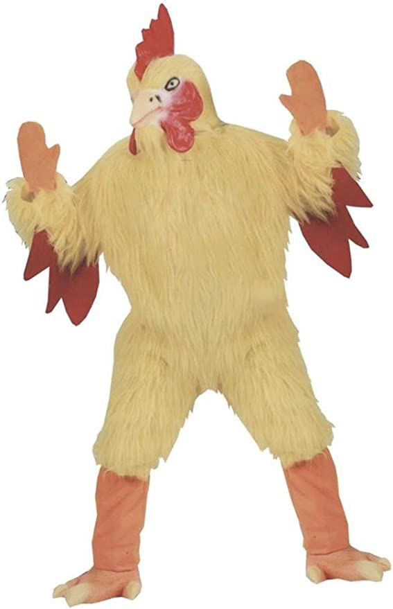 Amazon Com Funworld Funny Chicken Suit Yellow One Size Costume Clothing 4:35pm on dec 25, 2018. funworld funny chicken suit costume