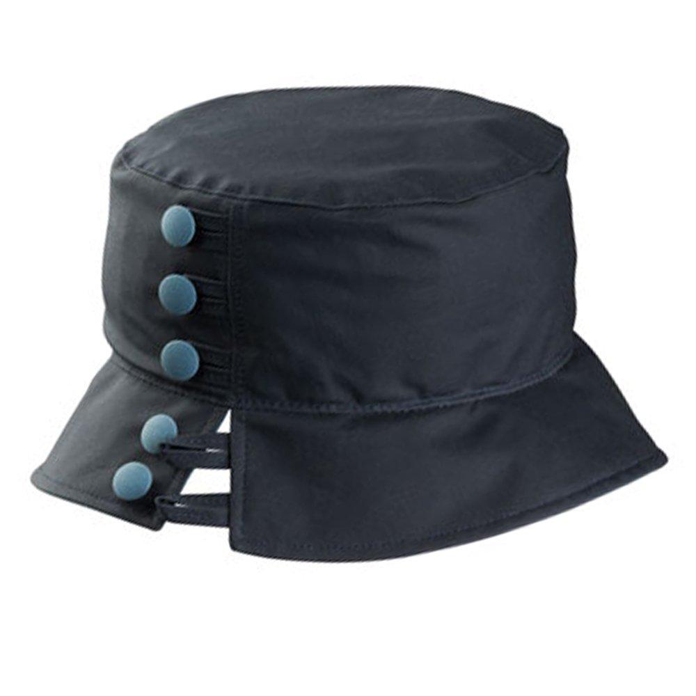 Olney Olivia Ladies Wax Waterproof Hat (Navy)