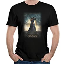Men's Pride And Prejudice And Zombies Poster Tshirt Black XL