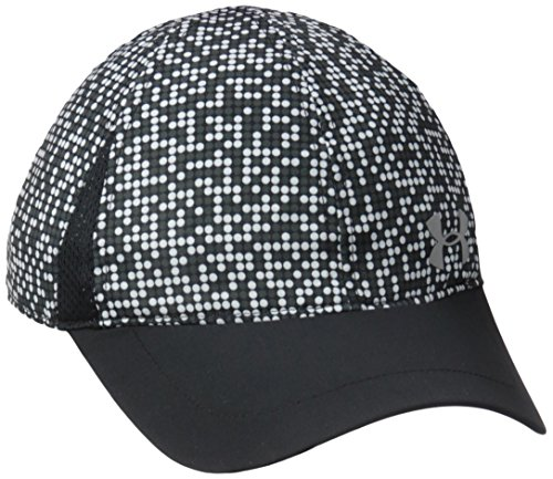 Under Armour Big Girls' Hat, White Dotted Black 4-6