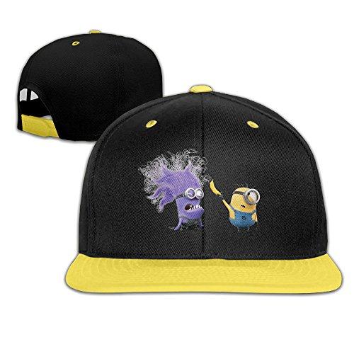 Kids Minions Hip-Hop Baseball Hats (Eine Brille Für Baseball)