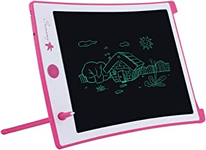 LCD Writing Tablet,8.5-inch Electronic Drawing Board and Doodle Board Gifts for Kids at Home and School (Pink)