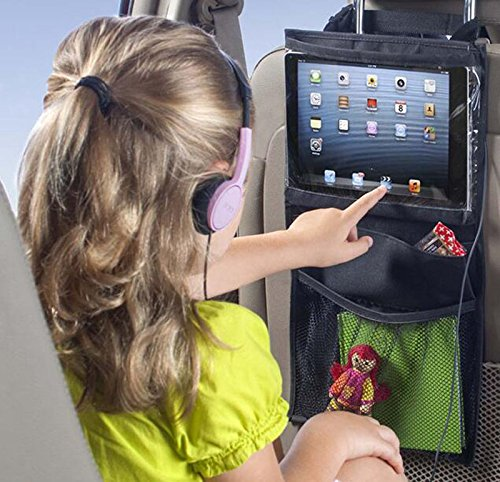 New AyasA Compact backseat storage car organizer and Ipad holder to Organize All Baby and Kids Trave...