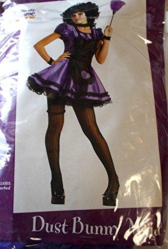 Junior Bunny Costumes (CaliforniaCostumes Dust Bunny Maid Purple Black Teen Junior 3-5 NIP Costume)