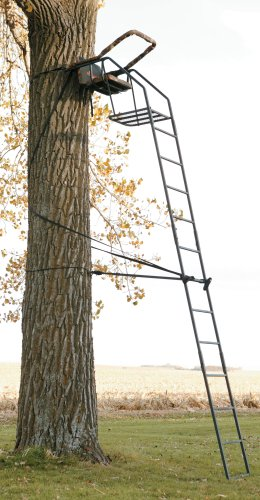 Big Game Riflemaster 16 ft. Deluxe Ladder Stand with Shoo...