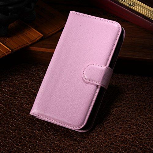 Manyip Funda Alcatel One Touch X pop OT5035D,Caja del teléfono del cuero,Protector de Pantalla de Slim Case Estilo Billetera con Ranuras para Tarjetas, Soporte Plegable, Cierre Magnético(JFC2-8) E